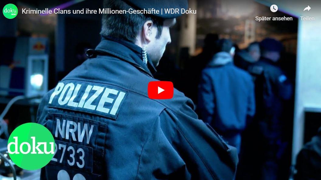 WDR-Doku: Kriminelle Clans und ihre Millionen-Geschäfte