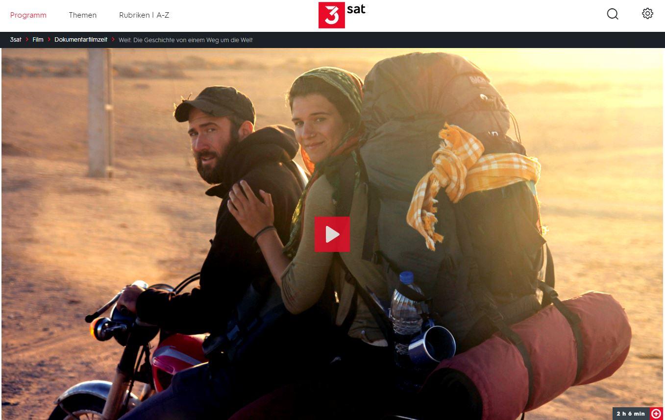 3sat-/ZDF-Doku: Weit. Die Geschichte von einem Weg um die Welt