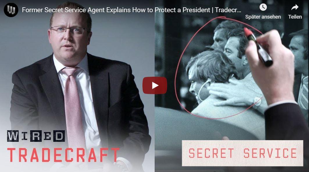 WIRED-Video: Wie der Secret Service den US-Präsident schützt