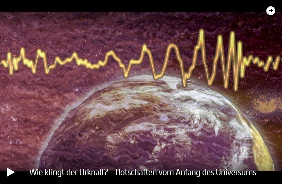 ARTE-Doku: Wie klingt der Urknall? - Botschaften vom Anfang des Universums