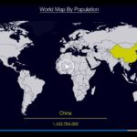 Infovideo: World Map By Population Size