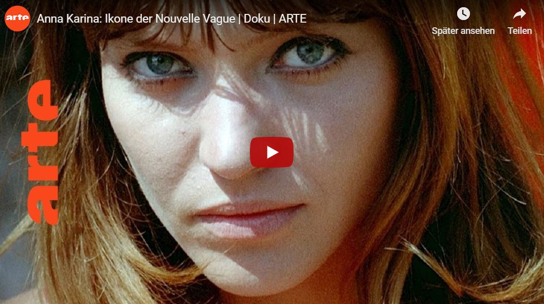 ARTE-Doku: Anna Karina - Ikone der Nouvelle Vague