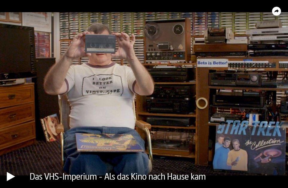 Das VHS-Imperium - Als das Kino nach Hause kam (ARTE)