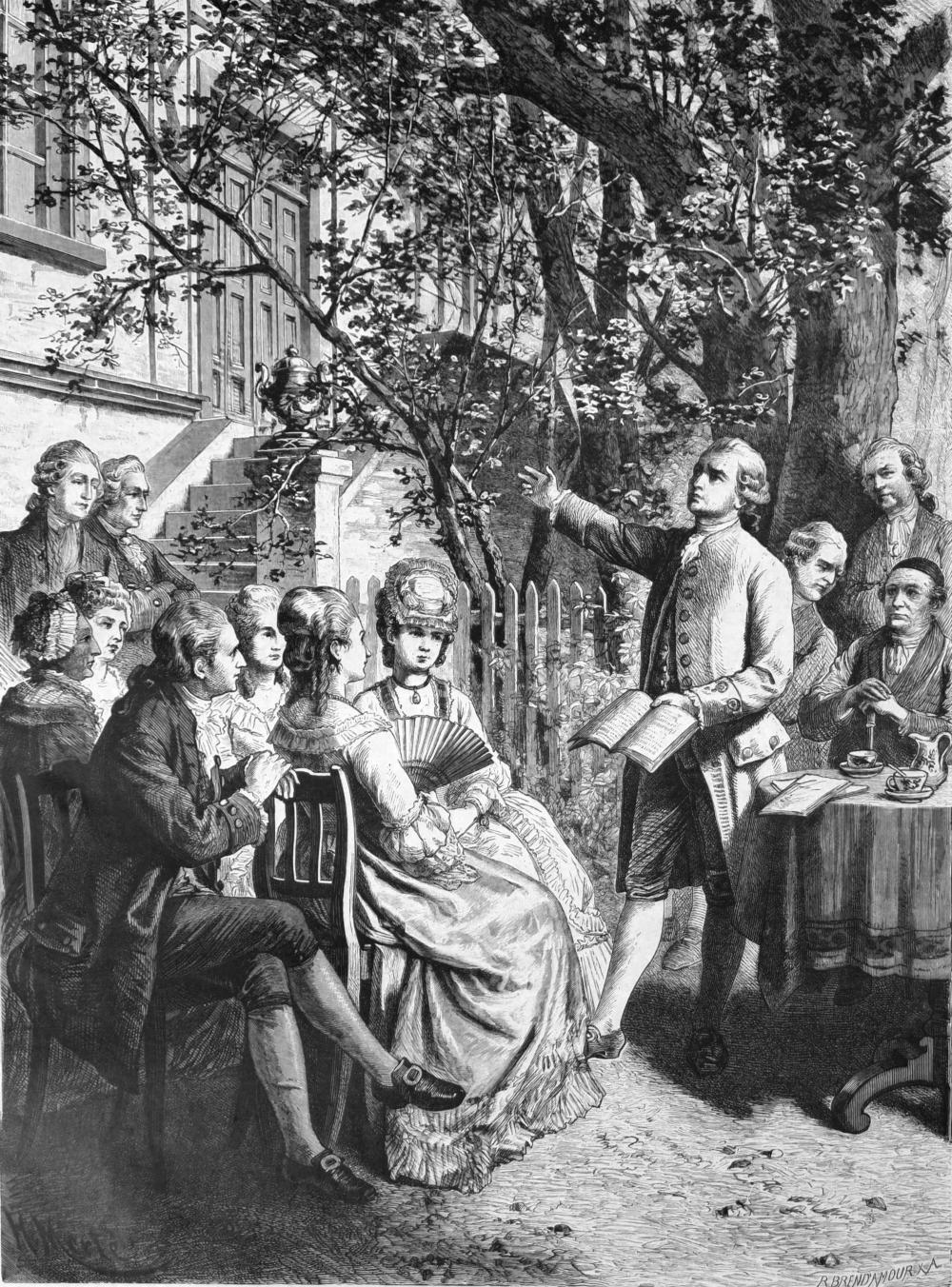 Traditionen der Geselligkeit bei Theodor Fontane - Vortrag von Dr. Jana Kittelmann beim Fontane-Kreis Leipzig