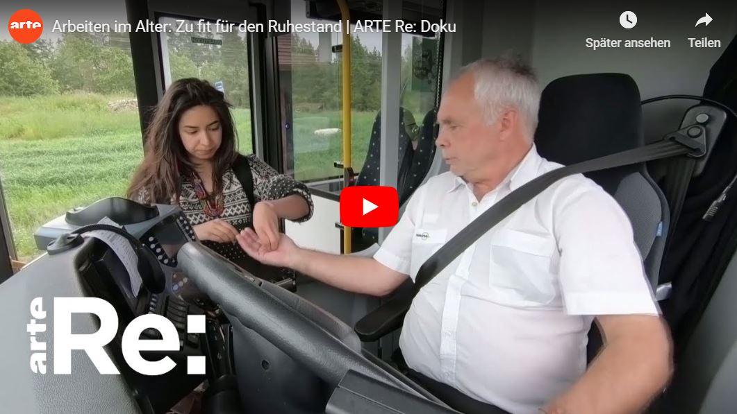 ARTE-Reportage: Arbeiten im Alter - Zu fit für den Ruhestand