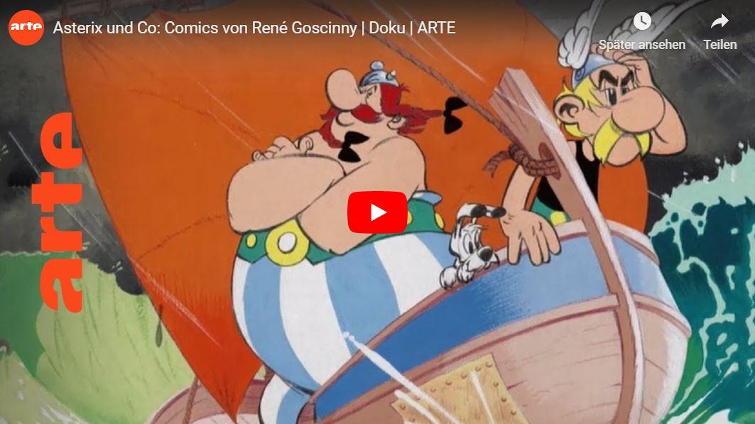 ARTE-Doku: Asterix und Co - Comics von René Goscinny