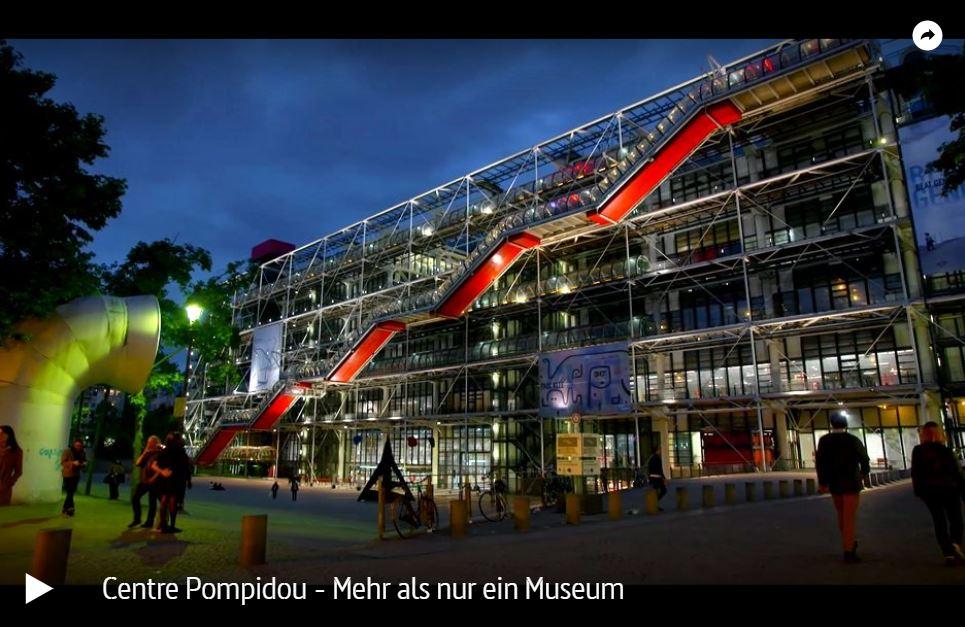 ARTE-Doku: Centre Pompidou - Mehr als nur ein Museum