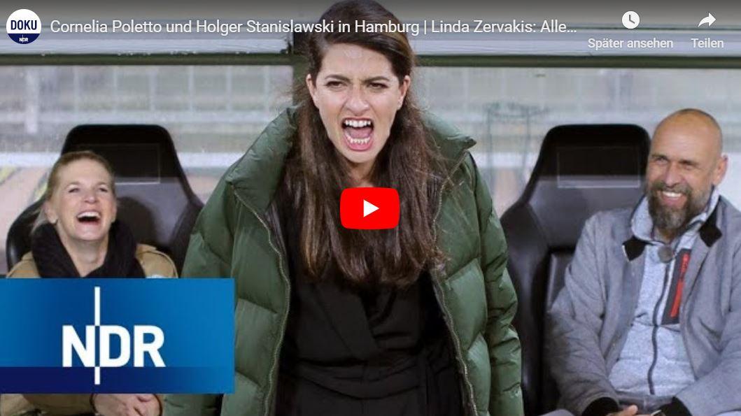 NDR-Doku: Cornelia Poletto und Holger Stanislawski in Hamburg | Linda Zervakis: Alles auf Anfang