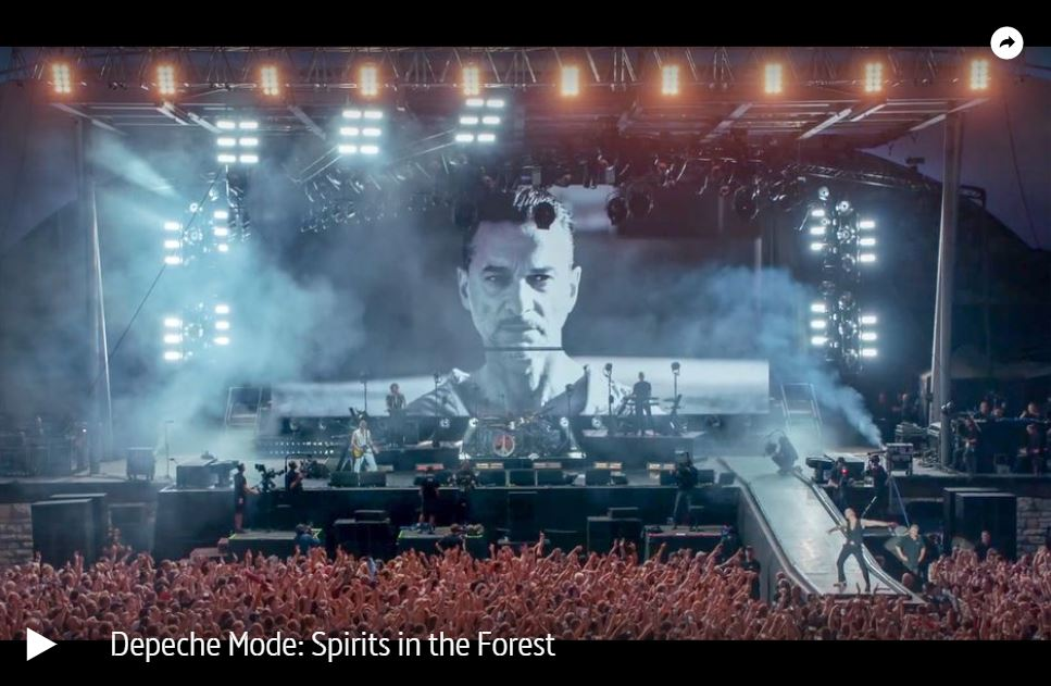 ARTE-Doku: Depeche Mode - Spirits in the Forest
