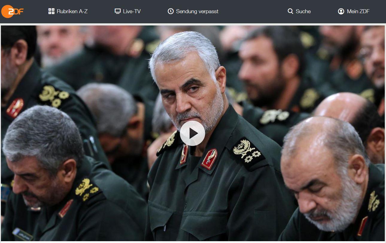 ZDF-Doku: Der Schattengeneral Qassem Soleimani - Irans gefährlichster Feldherr