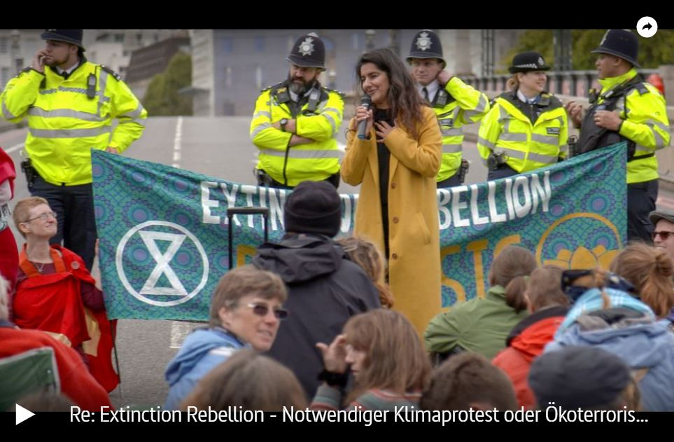 ARTE-Doku: Extinction Rebellion - Notwendiger Klimaprotest oder Ökoterrorismus?