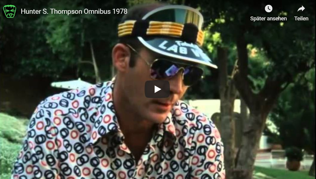 Doku von 1978: Hunter S. Thompson & Ralph Steadman auf dem Weg nach Hollywood