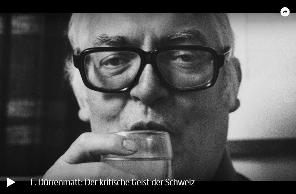 ARTE-Doku: Friedrich Dürrenmatt - Der kritische Geist der Schweiz