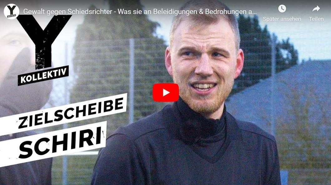 Y-Kollektiv-Doku: Gewalt gegen Schiedsrichter - Was sie an Beleidigungen & Bedrohungen aushalten müssen