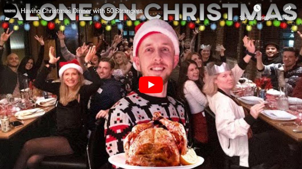 Wie man ein Weihnachtsessen für 50 fremde Menschen organisiert