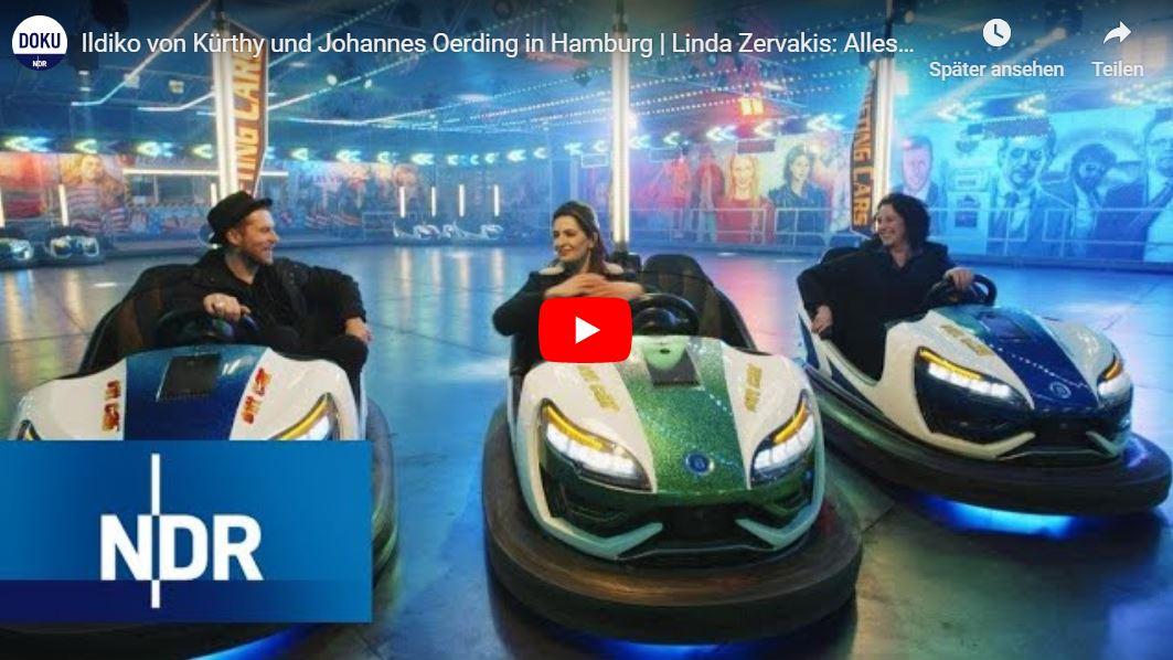 NDR-Doku: Ildiko von Kürthy und Johannes Oerding in Hamburg   Linda Zervakis: Alles auf Anfang