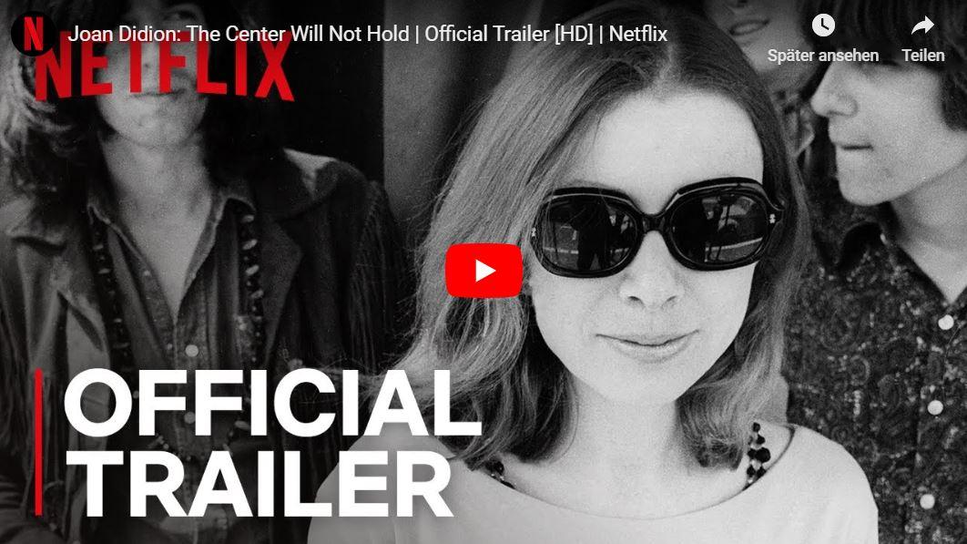 Netflix-Doku: Joan Didion - Die Mitte wird nicht halten