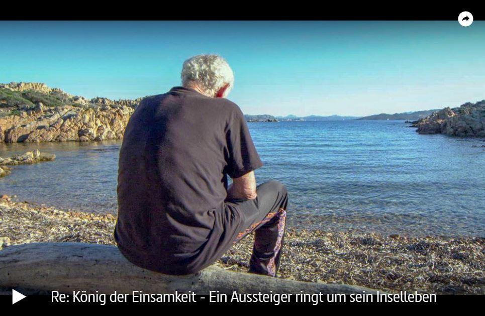 ARTE-Doku: König der Einsamkeit - Ein Aussteiger ringt um sein Inselleben