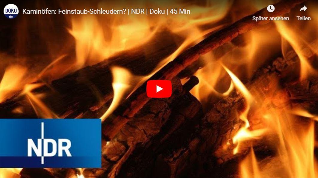 NDR-Doku: Kaminöfen - Feinstaub-Schleudern?