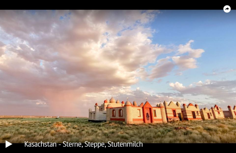 ARTE-Doku: Kasachstan - Sterne, Steppe, Stutenmilch