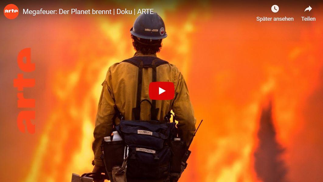ARTE-Doku: Megafeuer - Der Planet brennt