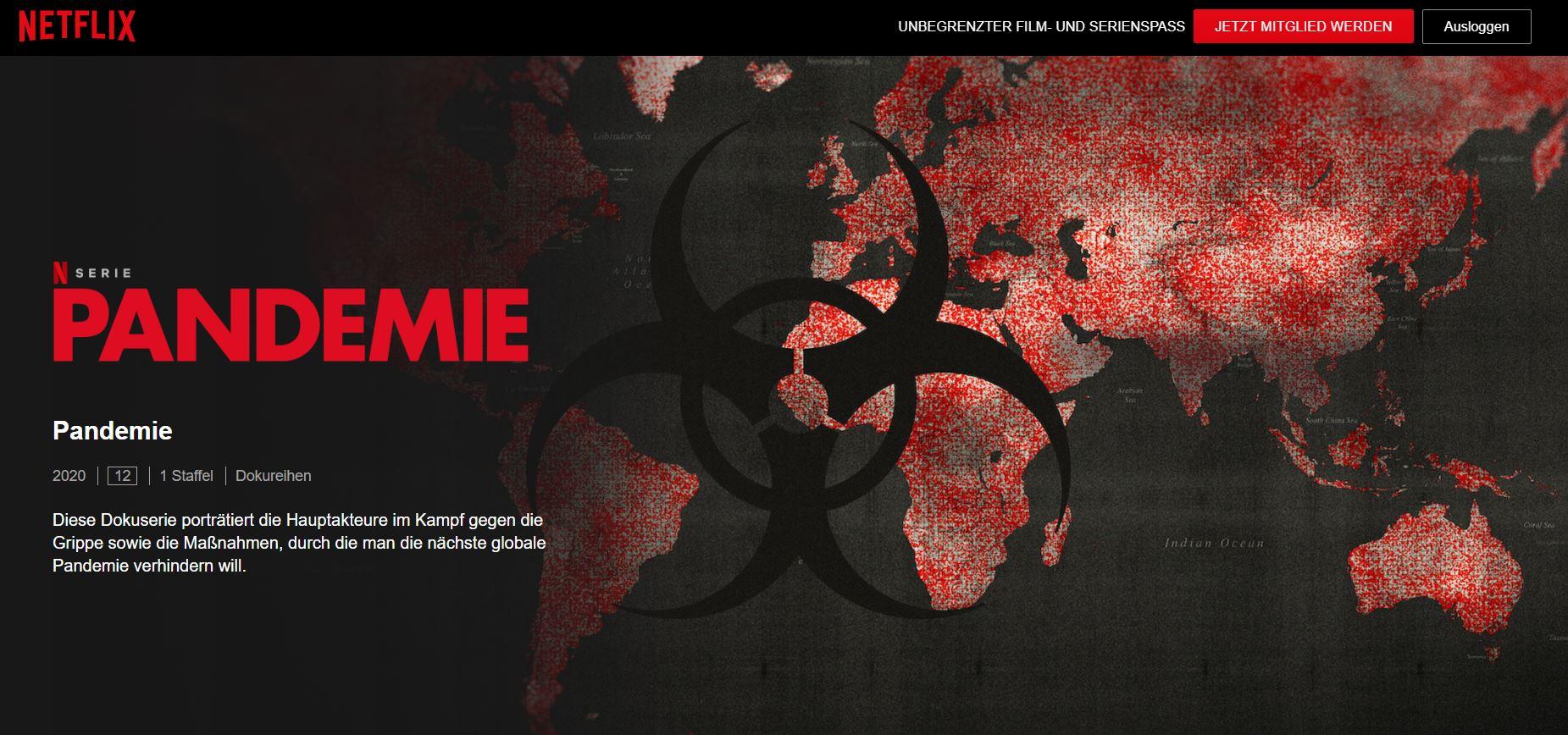 Netflix-Dokuserie: Pandemie