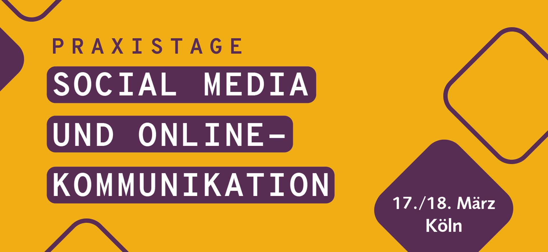 Praxistage Social Media und Onlinekommunikation 2020