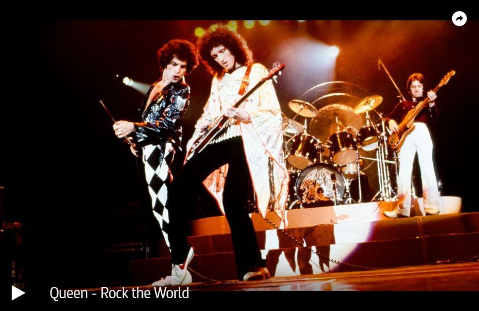 ARTE-Doku: Queen - Rock the World