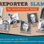 Reporter Slam - das Jahresfinale der Besten 2019