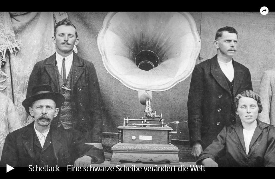 ARTE-Doku: Schellack - Eine schwarze Scheibe verändert die Welt