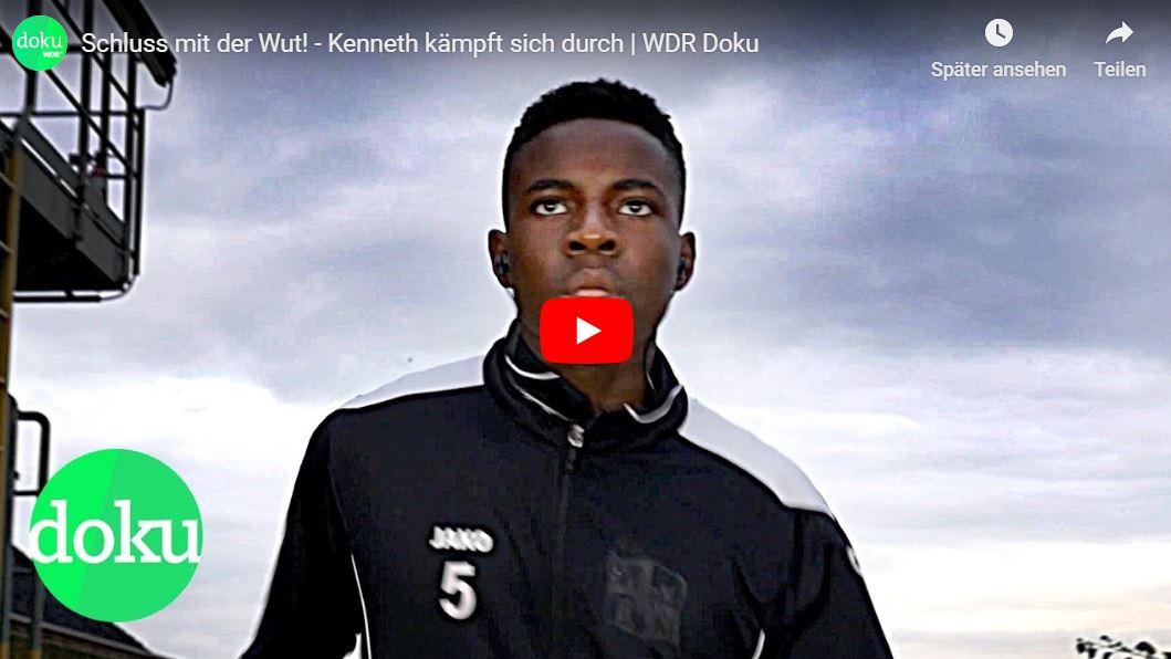WDR-Doku: Schluss mit der Wut! - Kenneth kämpft sich durch