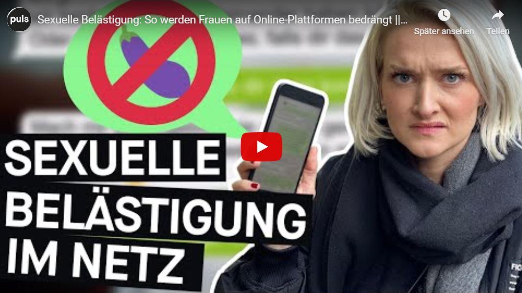 PULS Reportage: Sexuelle Belästigung - So werden Frauen auf Online-Plattformen bedrängt