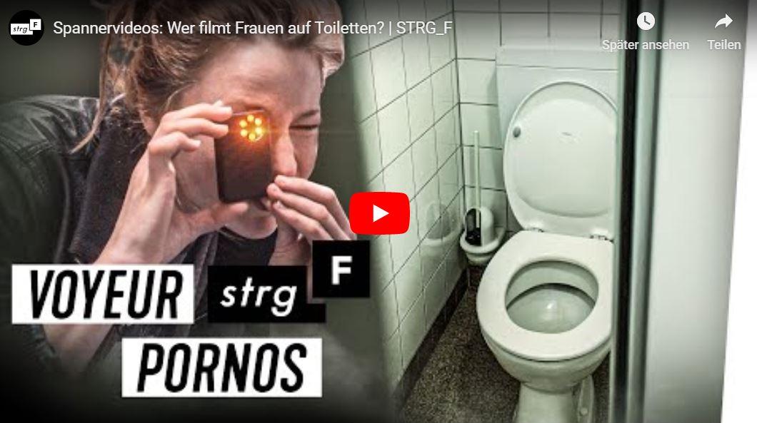 STRG_F-Doku: Spannervideos - Wer filmt Frauen auf Toiletten?