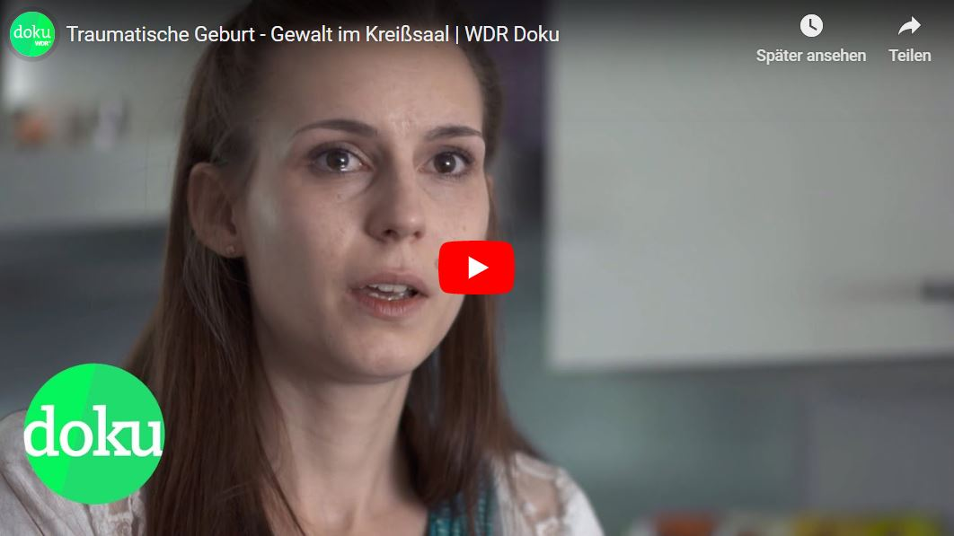 WDR-Doku: Traumatische Geburt - Gewalt im Kreißsaal