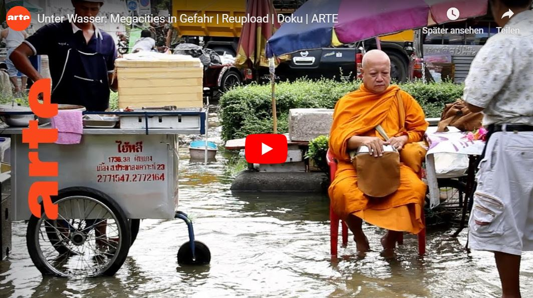 ARTE-Doku: Unter Wasser - Megacities in Gefahr