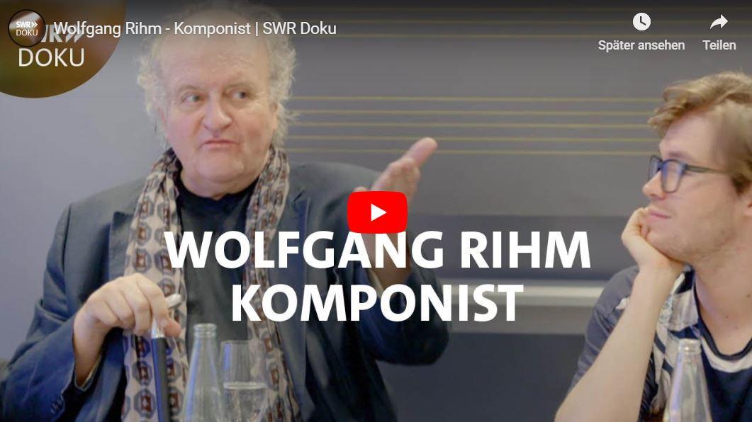 SWR-Doku: Wolfgang Rihm - Komponist