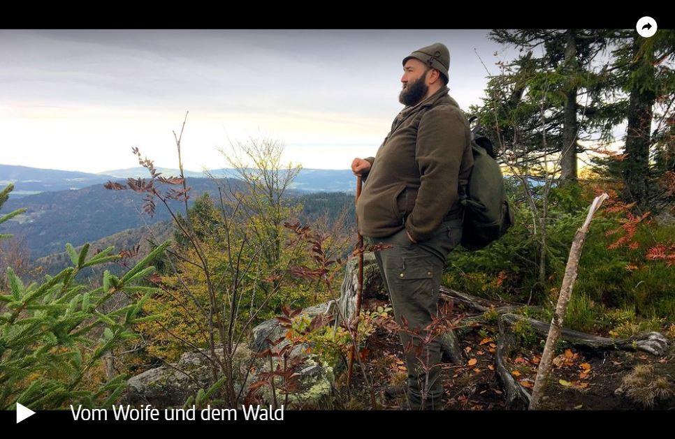 ARTE-Doku: Wolfgang Schreil – Vom Woife und dem Wald