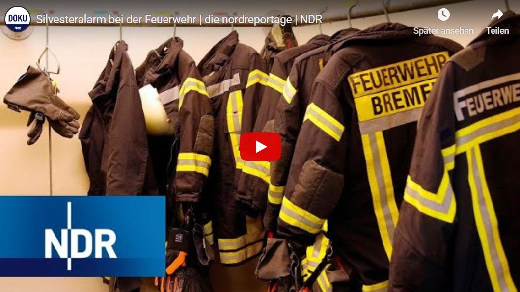NDR-Doku: Silvesteralarm bei der Feuerwehr