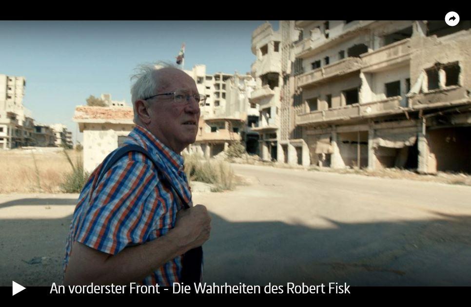 ARTE-Doku: An vorderster Front - Die Wahrheiten des Robert Fisk