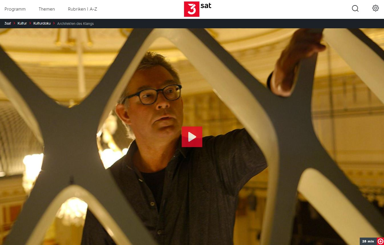 3sat: Architekten des Klangs // Doku-Empfehlung von Heike Matthiesen