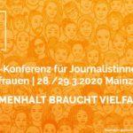 FRAU MACHT MEDIEN 2020 - DJV Journalistinnen-Konferenz