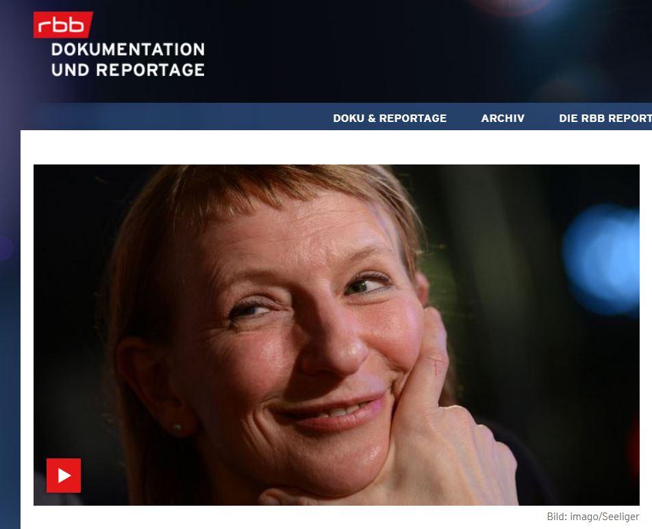 RBB-Doku: Dagmar Manzel
