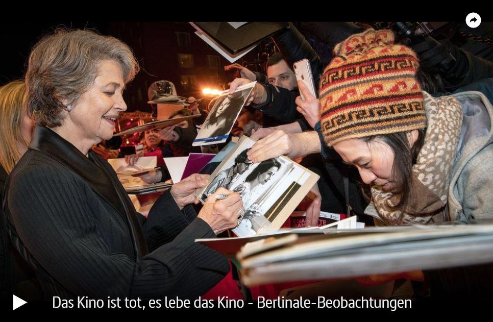 ARTE-Doku: Das Kino ist tot, es lebe das Kino - Berlinale-Beobachtungen