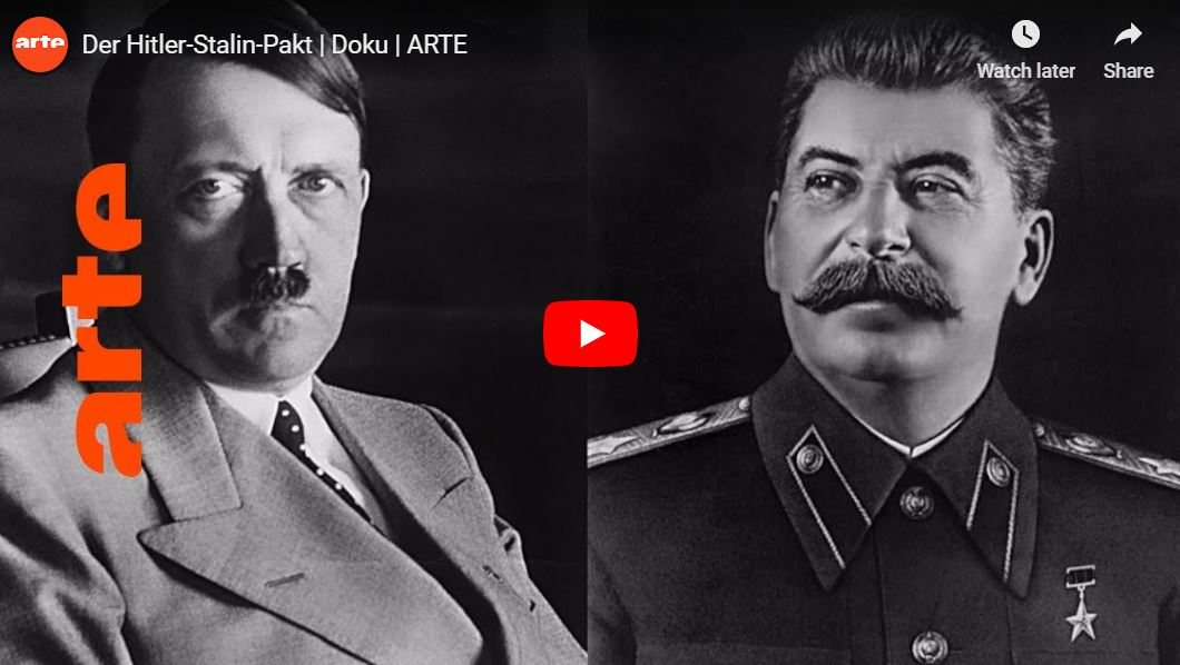 ARTE-Doku: Der Hitler-Stalin-Pakt