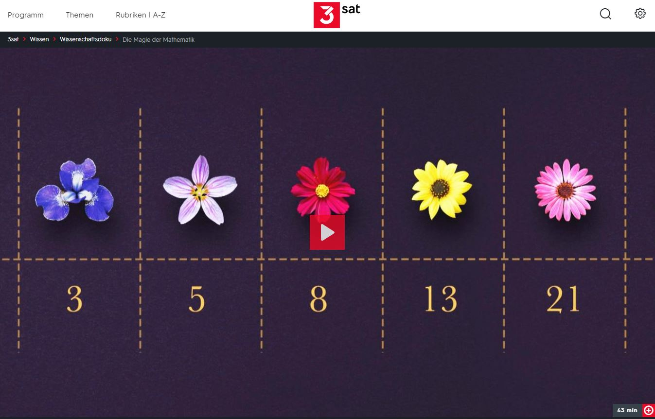 3sat-Doku: Die Magie der Mathematik