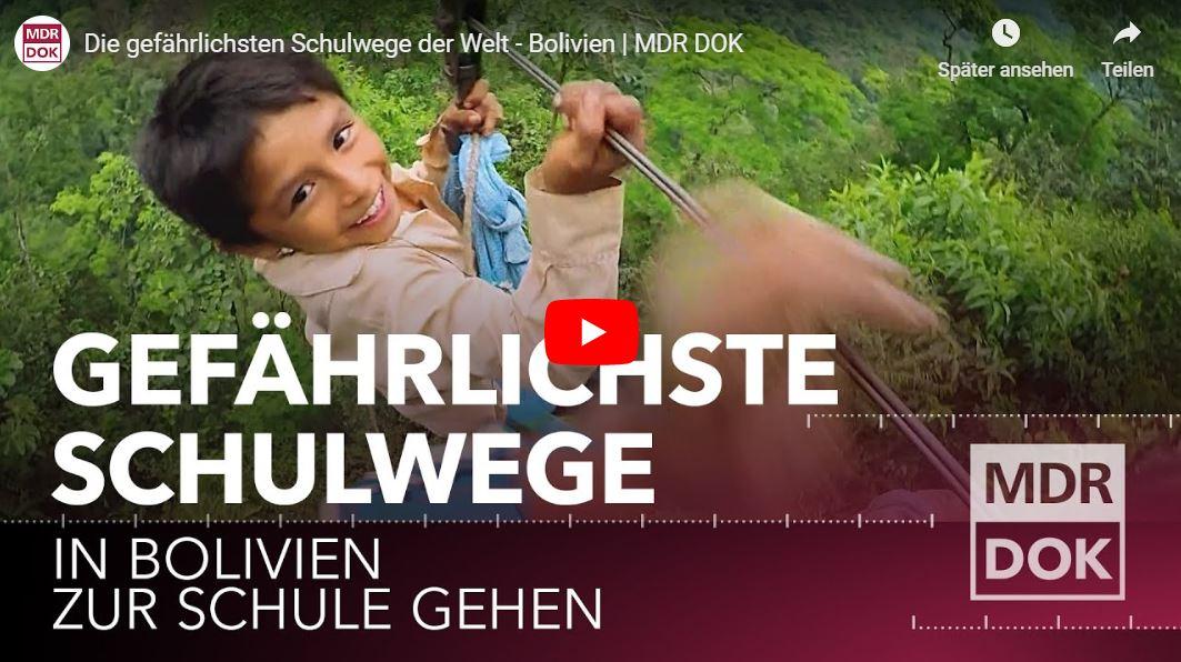 MDR-Dokureihe: Die gefährlichsten Schulwege der Welt (12 Teile)