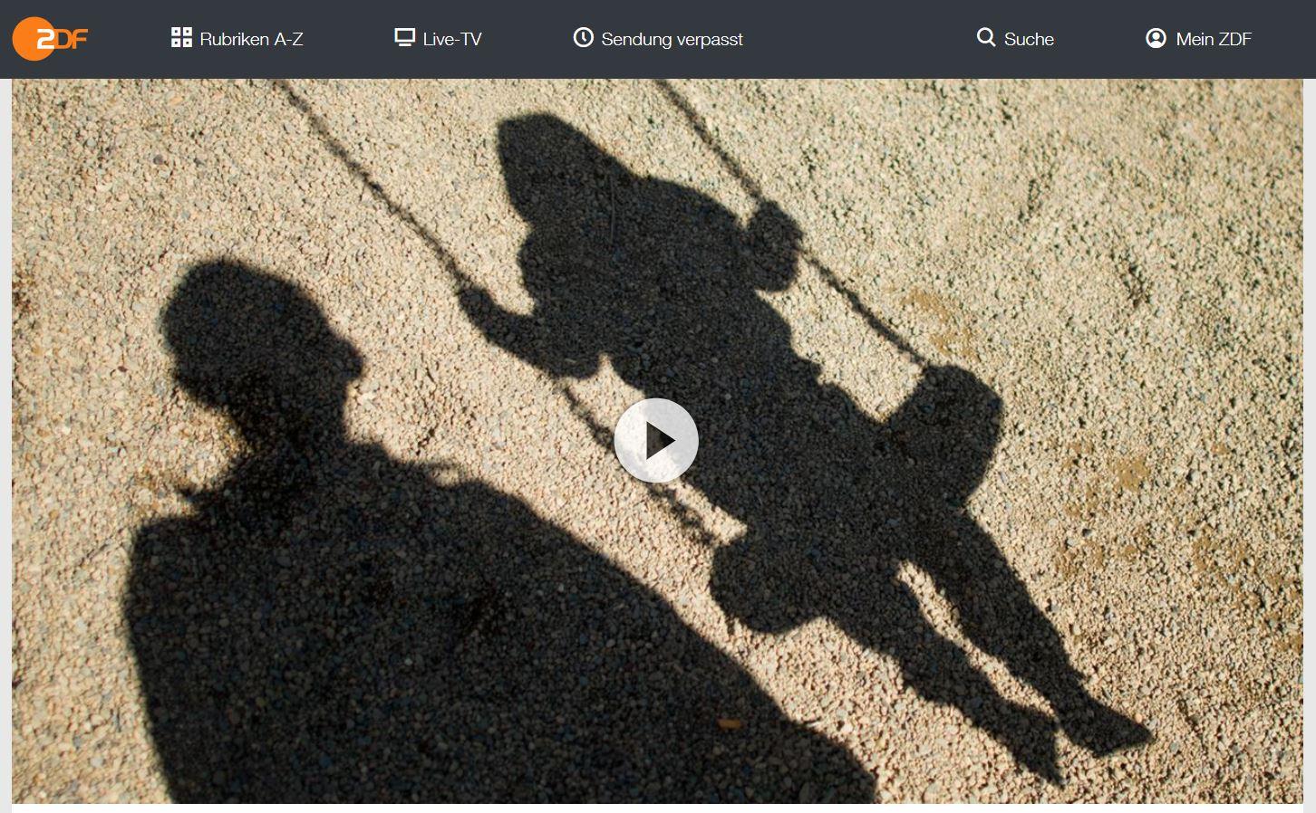 ZDF-Doku: Dunkelfeld - Kindesmissbrauch in Deutschland