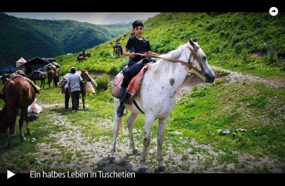 ARTE-Doku: Ein halbes Leben in Tuschetien