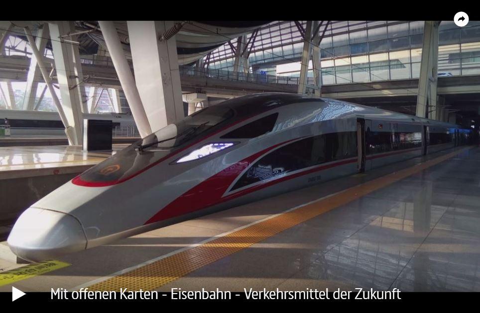 ARTE: Eisenbahn - Verkehrsmittel der Zukunft | Mit offenen Karten