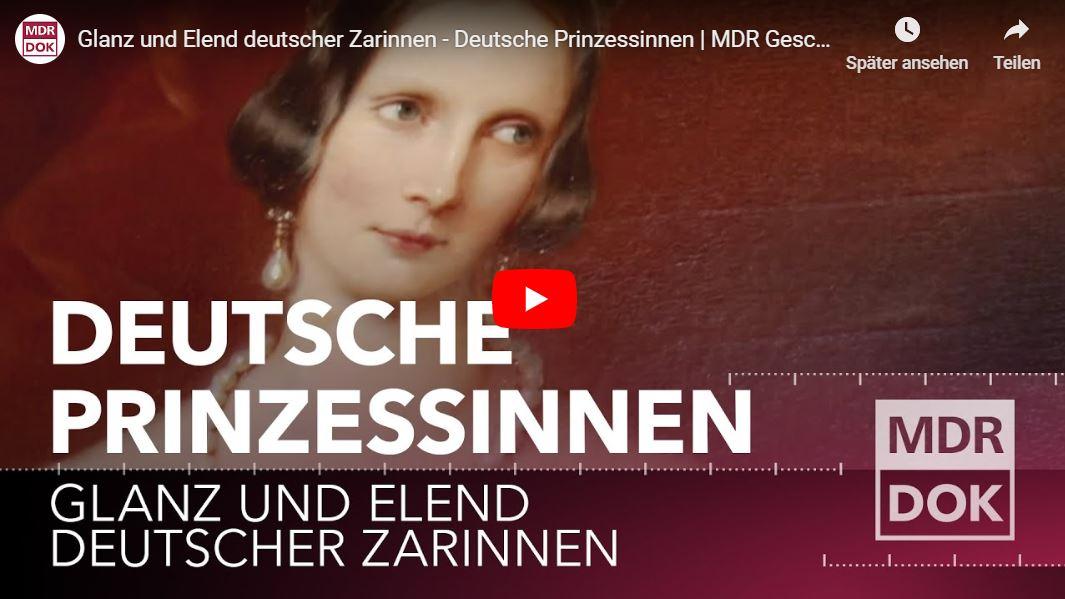 MDR-Doku: Glanz und Elend deutscher Zarinnen - Deutsche Prinzessinnen